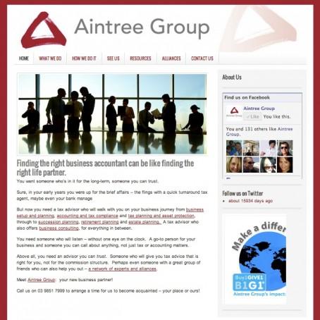 Aintree Group Accountants use PARADOX Marketing Service