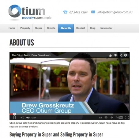 Otium Group Superannuation Specialists Use PARADOX Marketing Services