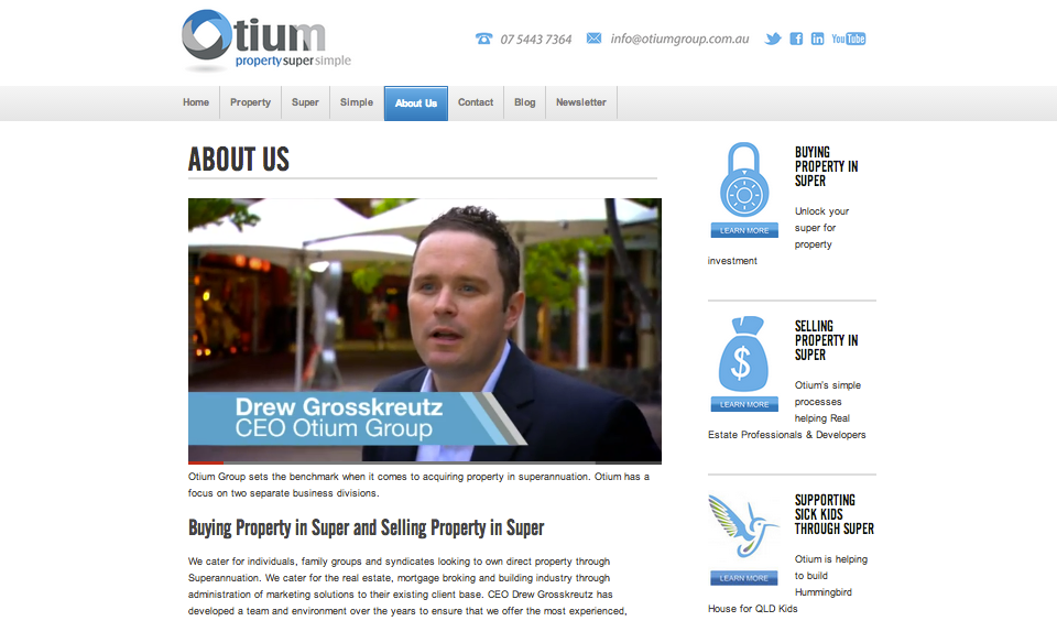 Otium Group - Drew Grosskreutz Uses_PARADOX Marketing Services