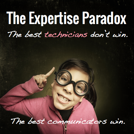 The Expertise Paradox