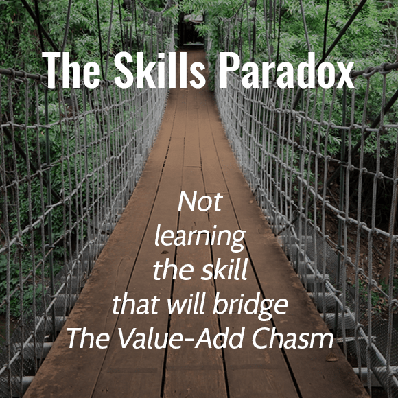 The Skill Paradox: Accountants Avoid Learning The Skill That Will Bridge The Value-Add Chasm