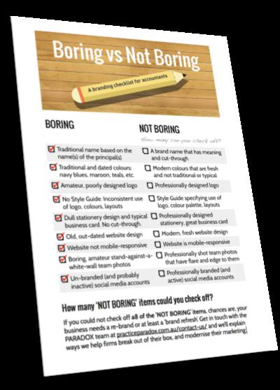 Branding for Accountants Checklist