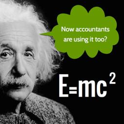 What Einstein can teach accountants about marketing
