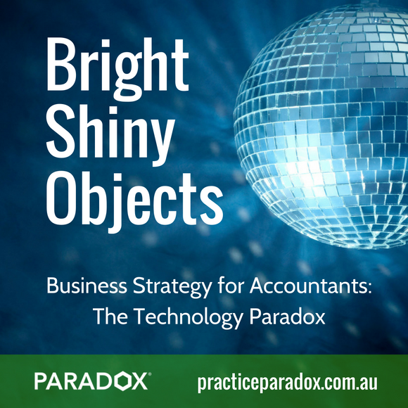 bright shiny objects business strategy for accounting firms