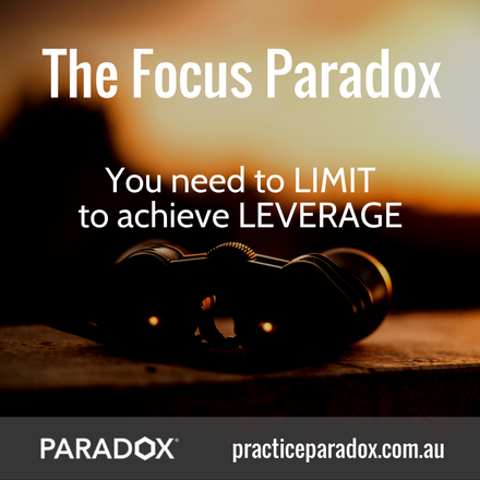The Focus Paradox marketing for accountants