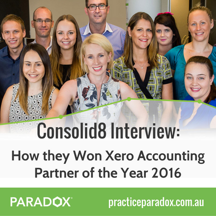 Consolid8 Xero Partner Interview PARADOX