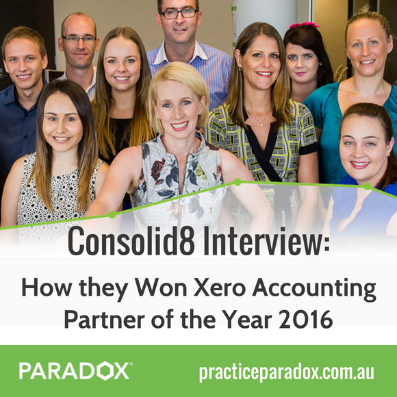Consolid8 Xero Partner Interview - PARADOX