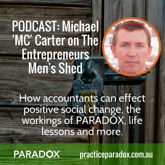 Michael MC Carter entrepreneur podcast