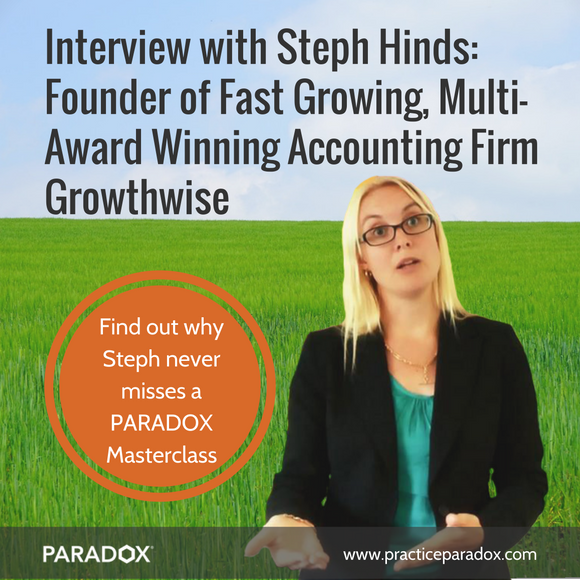 Growthwise interview Steph Hinds growing accounting firm