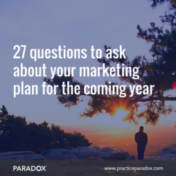 accountants and advisors marketing plan for the coming year