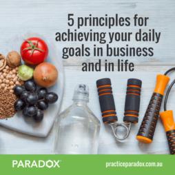 achieving business goals