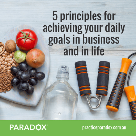 achieving business goals