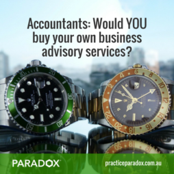 Accountants buy advisory services