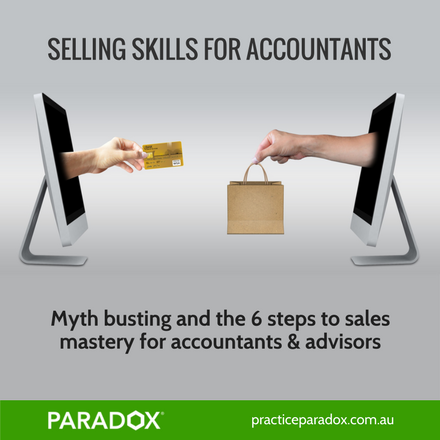 Selling skills for accountants and advisors