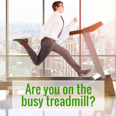Busy treadmill - accountants and advisors