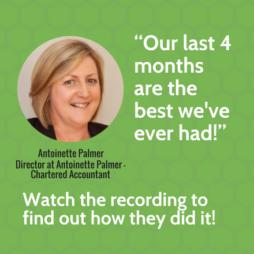 Antoinette webinar interview marketing accountant