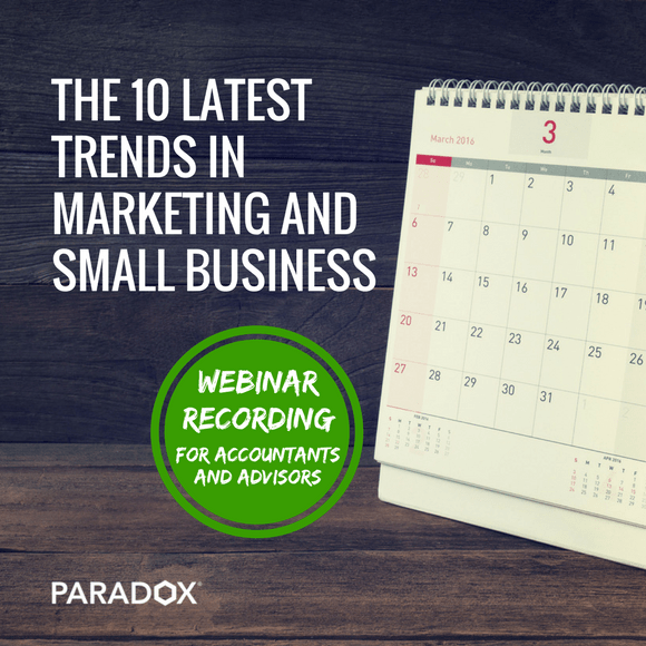 10 marketing trends for accountants