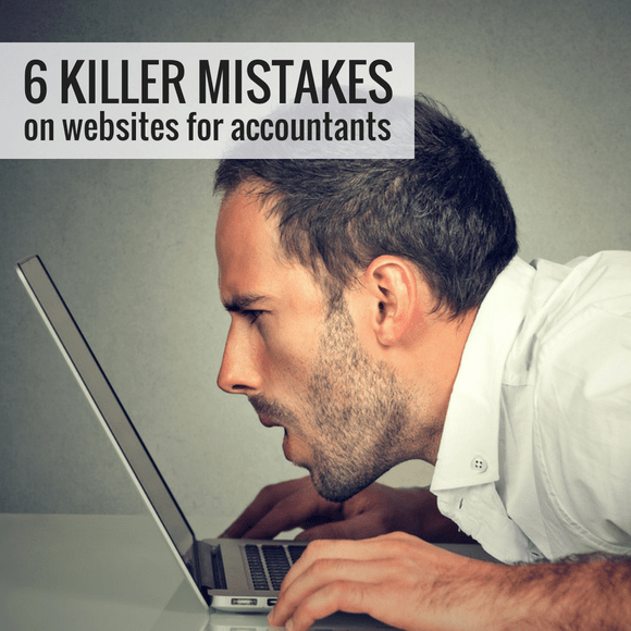 websites for accountants common mistakes