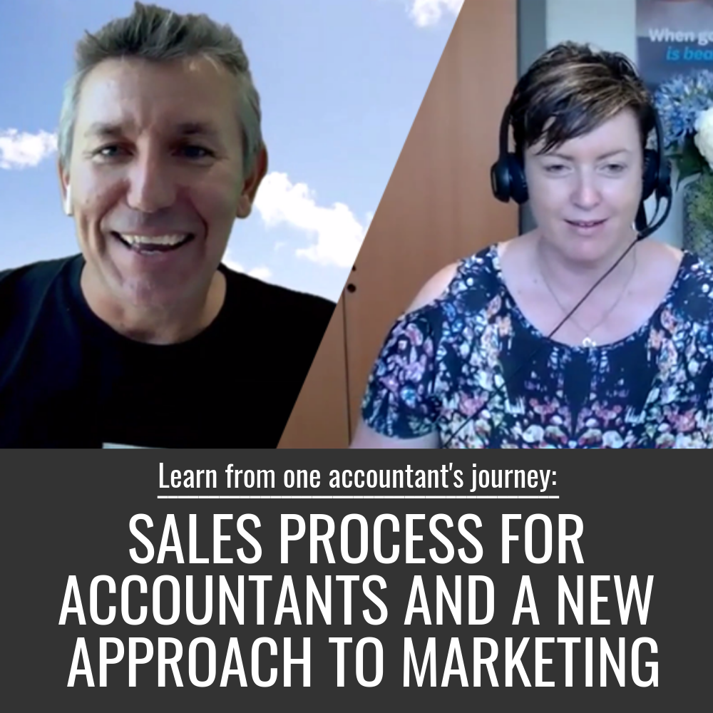 sales process for accountants and marketing